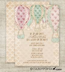 14 Best Hot Air Balloon Party Images On Pinterest  Balloon Party Vintage Hot Air Balloon Baby Shower