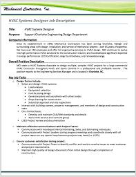 Project Engineer Sample Job Description Templates Energy