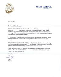 Letters Of Recommendations For Teachers Example Letter Recommendation Teacher Copy Best S Of Teacher Re