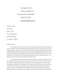 Examples Of Cover Letters For A Resume Cover Letter Internship ...