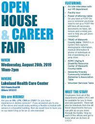 Open House Career Fair Wlkg 96 1 Fm The Lake