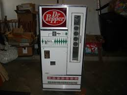 Dr Pepper Vending Machine For Sale Extraordinary VintageWorking Dr Pepper Soda Vending Machines Beverages