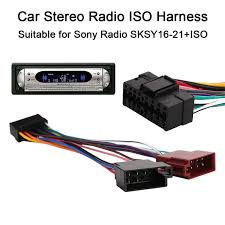 sony car stereo 16 pin wiring harness not lossing wiring diagram • vehemo 16pin car stereo radio harness iso for sony radio sksy16 21 rh aliexpress com sonyo car stereo wiring harness sony car stereo wiring guide