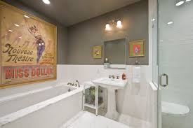 Vintage bathroom wall decor photos and products ideas