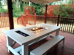 outdoor table ideas collection in backyard simple fire pit patio furniture diy side