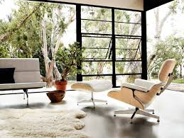 replica eames lounge chair and ottoman black. modern eames lounge and ottoman replica chair black