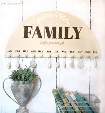 diy family birthday calendar