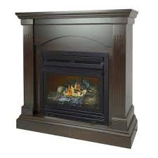 20 000 btu compact convertible ventless natural gas fireplace in