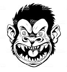 Crazy 猿ヘッド おびえるのベクターアート素材や画像を多数ご用意 Istock