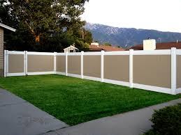 two tone vinyl privacy fence. Modren Privacy 6u0027 Two Tone Inside Vinyl Privacy Fence V