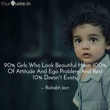 90 Girls Who Look Beauti Quotes Writings By Rishabh Jain