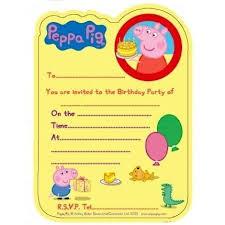 Free Invitation Template Downloads Amazing Birthday Invites Incredible Peppa Pig Birthday Invitations Free