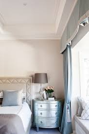 Pale Blue Bedroom A Classic American Bedroom In The Perfect Pale Blue Palette By