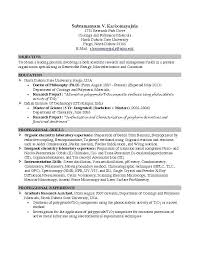 College Student Resume Sample Unique Sample Resume Objective For