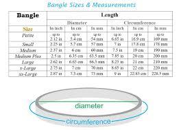 X Large Size Chart Iroc Sales Bangle Size Chart