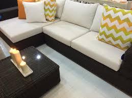 Outdoor Living Room Sets Outdoor Living Room Furniture Set L Shaped Modular Sofa Mod