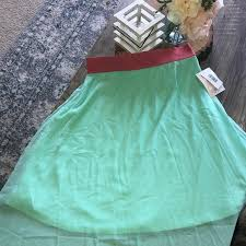 Lola Skirt Size Chart Wt Lularoe Lola Skirt Small Nwt