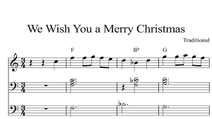 We Wish You A Merry Christmas: CHRISTMAS SHEET MUSIC Piano Organ ...