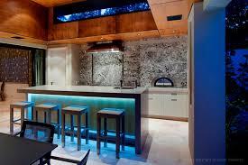 modern kitchen bench lighting with black wicker rattan kitchen bench feat mahogany wooden kitchen bar complete attractive attractive kitchen bench lighting