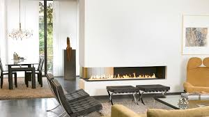 Two Sided Fireplace Throughout Lovely Modern Double Sided Fireplace | Home  Decorating