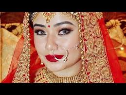 indian bridal makeover makeup
