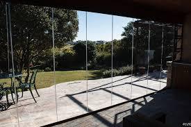 frameless glass folding stacking or sliding doors