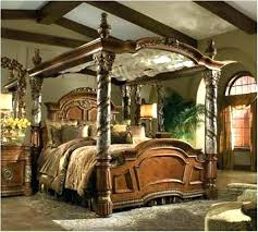 King Size Canopy Beds Bed Set Amazing Bedroom Sets With Curtains ...