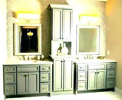 countertop vanity tower vanity tower bathroom storage amazing white bathroom vanity countertop tower