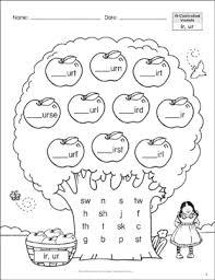 Phonics printable worksheets and activities (word families). Long Vowels Ea Ee Phonics Tree Printable Skills Sheets