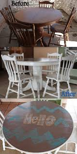 How to Refinish a table, NO sanding! Make an old table new again!