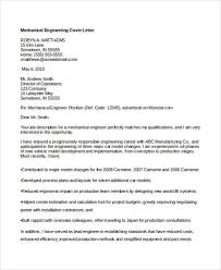 Engineering Cover Letters 11 Free Word Pdf Format