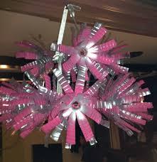 diy water bottle chandelier