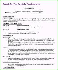 First Job Resume Templates First Job Resume Examples 39 Guidelines For 2019
