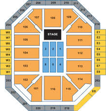 Ted Constant Center Seating Chart