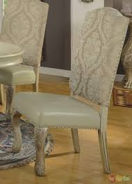 antique dining room chairs. Dining Room:A Soft And Antique Room Chairs Styles With Flowar Pattern On The D