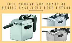 Kitchen Appliance Comparison Chart Full Comparison Chart Of Waring Excellent Deep Fryers