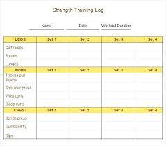 Workout Spreadsheet Printable Workout Log Sheets Tracker Spreadsheet Template