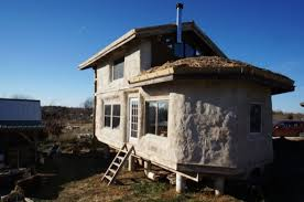 Small Picture Timber Frame Straw Bale Tiny House For Sale Photoperhaps this is