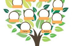 Free Family Tree Abstract Frame May Used Stock Vector Royalty
