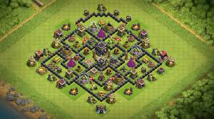 The Best Base Design For Clash Of Clans Coc Best Th8 Base Design 2018