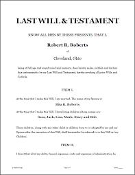 Living Trust Form Mesmerizing LAST WILL TESTAMENT Legal Forms Software Standard Legal Last
