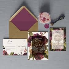 Wedding Card Collage Flourish Wedding Invitation Set By Feel Good Wedding Invitations