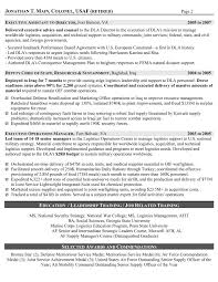 Military Resume Samples Examples Writers Usaf Format Logistician