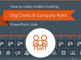Creating Attractive Org Charts Company Roles Powerpoint Slide