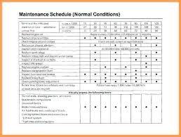 Car Maintenance Record Car Maintenance Checklist Spreadsheet Awesome Preventive Maintenance