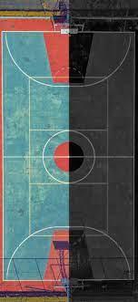 Basketball Court iPhone Wallpaper