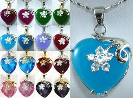 lovely purple green blue red jade heart love 18kgp pendant necklace opal necklace handmade jewelry from honester888 10 06 dhgate com