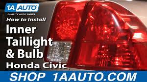Advance Auto Parts Brake Light Bulb How To Replace Tail Light 03 05 Honda Civic