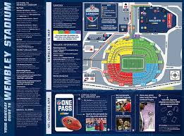 Wembley Stadium Nfl Seating Chart Wembley Stadium Gameday Guide Nfl Com