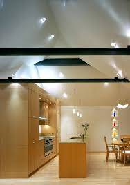 lighting beams. Vaulted Ceiling Lighting Kitchen Contemporary With Eat In Exposed Beams Lights For Wooden Traditional Cup Pu T